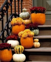 pumpkin stairs