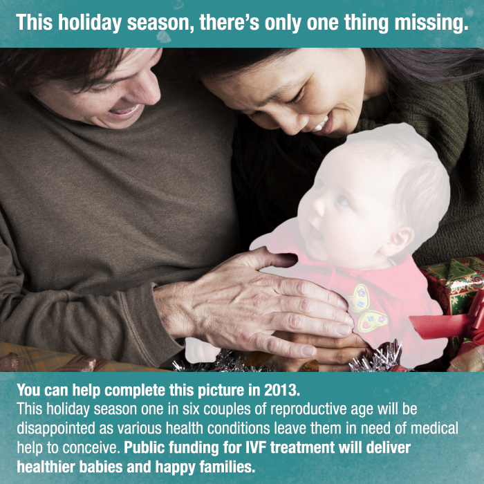 Holiday card - IVF