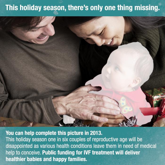 Holiday card - IVF