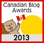 Canadian Blog Awards badge