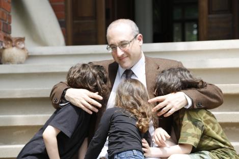 Warren Orlans, aka, The Urban Daddy with children