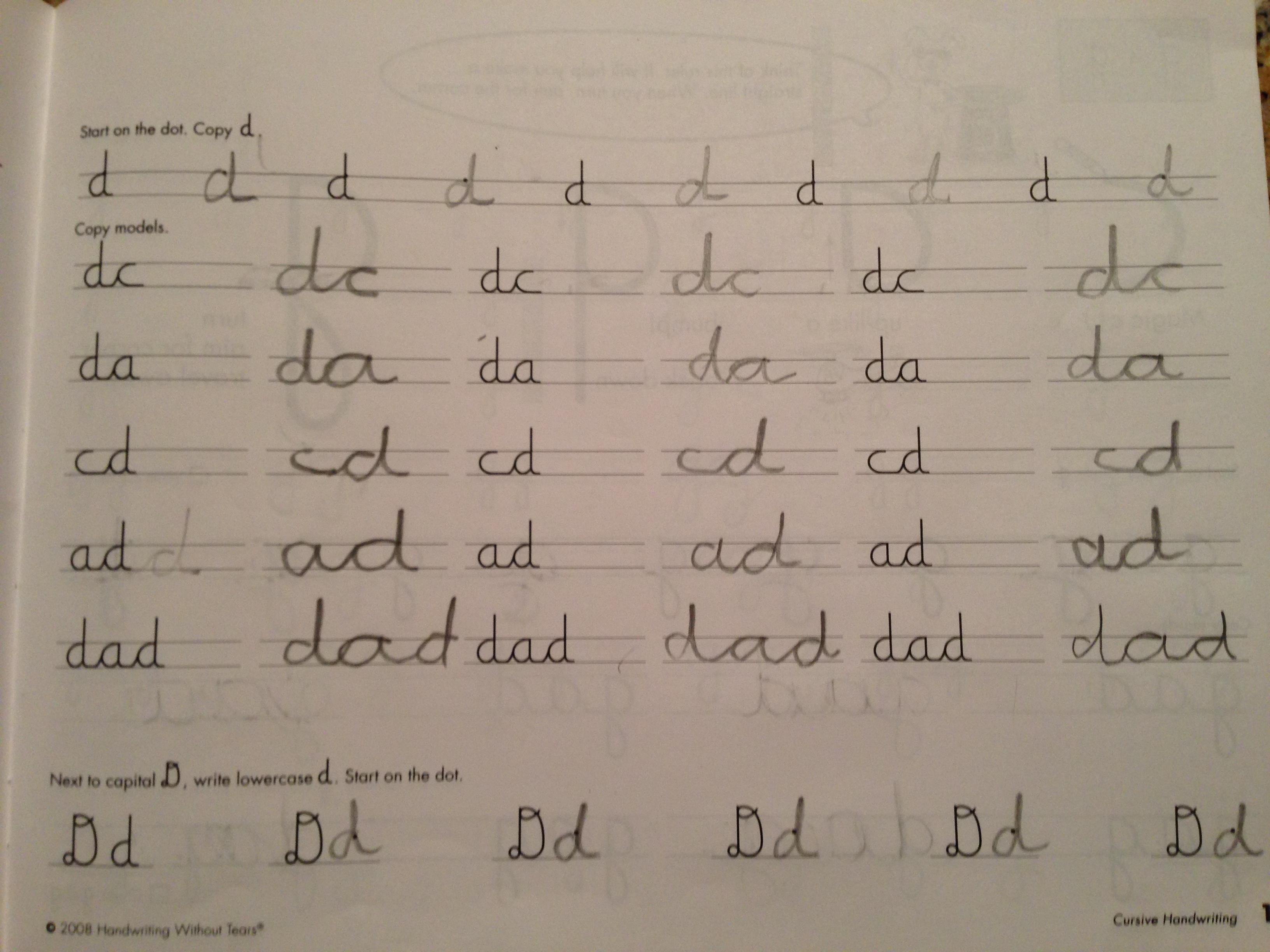 Worksheet Cursing Writing how cursive is better than cursing the urban daddy cursivebook