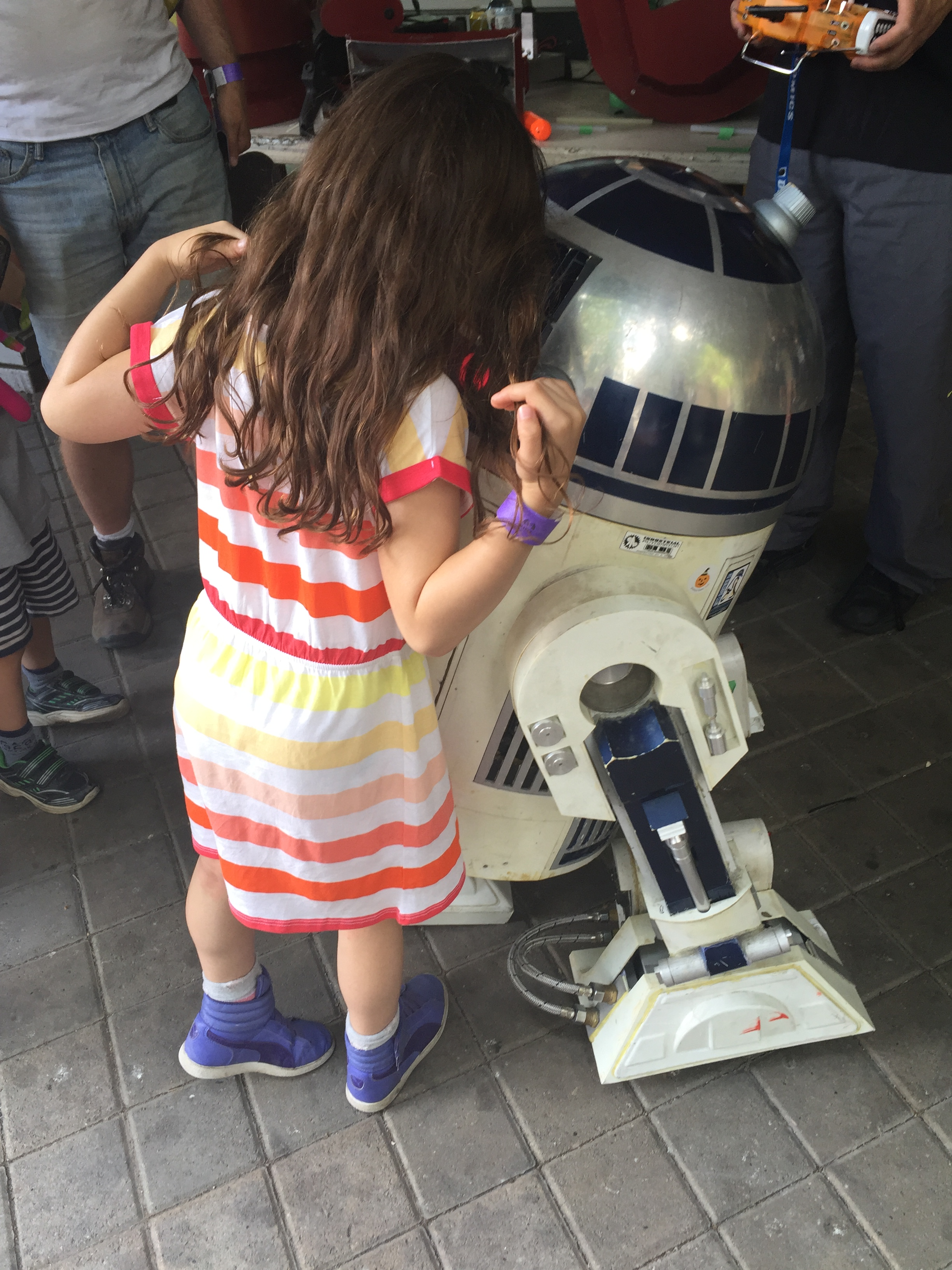 Boo and R2D2